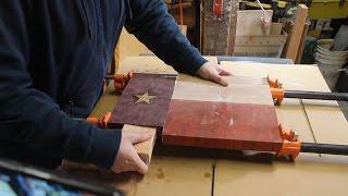 Texas Flag Cutting Board