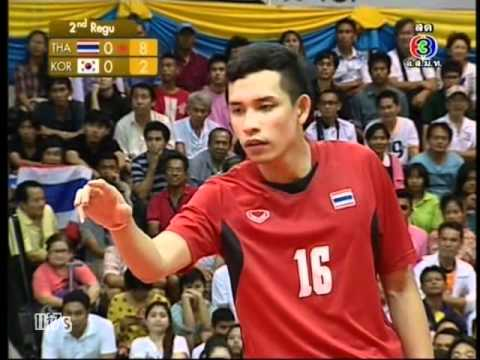 THA - KOR Sepaktakraw King's Cup Men's Team (2nd)