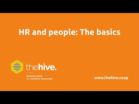 HR Basics | www.thehive.coop