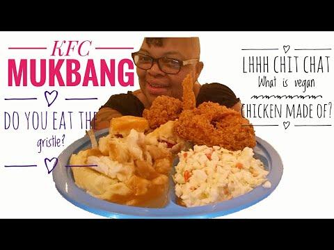 #89 KFC Mukbang|Smacking and Finger Licking