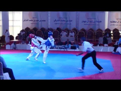 Jelle Plomp  Fujairah Open WTF - G2  K.O Taekwondo