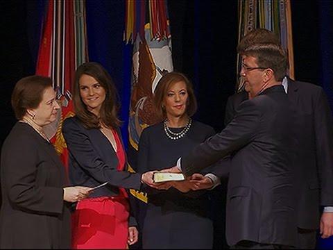 Raw: Ash Carter Sworn in As Defense Secretary
