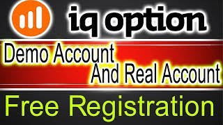 iq option demo account And Real Account registration | Abdul Rauf Tips