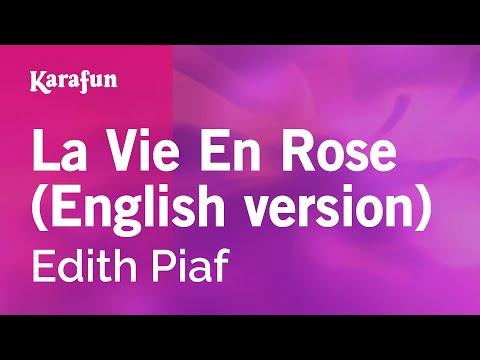 Karaoke La Vie En Rose (English version) - Edith Piaf *