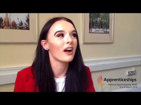 National Apprenticeship Week 2018 - Paige