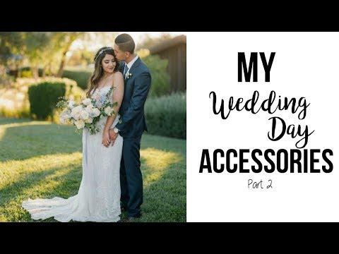 My wedding day accessories, signs, decor part 2 || Episode 8