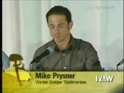 """Il """"Soldato d'Inverno"""" Mike Prysner (ITA)"""