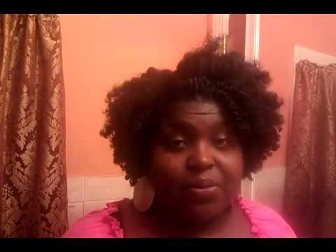 natural hair 4a 4b dry twist