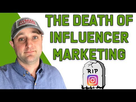 Why Instagram Influencer Marketing Is Dying in 2018