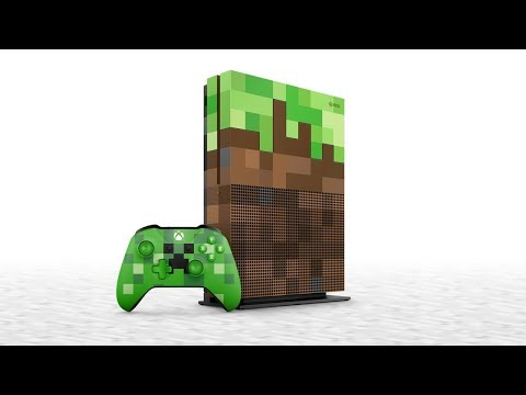 Introducing: The Xbox One S Minecraft Limited Edition Bundle!