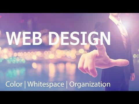 Website Design Upgrade: Whitespace, Organization & Color