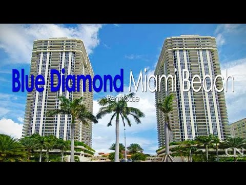Blue Diamond Miami Beach - 4779 Collins Avenue - Penthouse  -   South Beach Condos For Sale