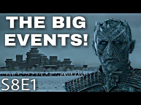 Game of Thrones Season 8 Episode 1 Breakdown! - Game of Thrones Season 8