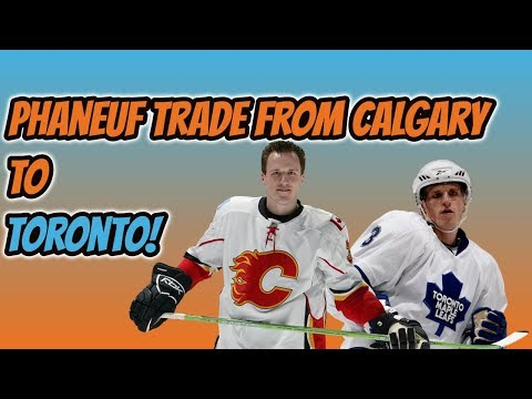 Looking Back at the Calgary-Toronto Trade For Dion Phaneuf! | Auddie James