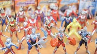 Ultraman Toys Collection Ultraman Orb Burnumite,Ultraman Taro,Ultra...