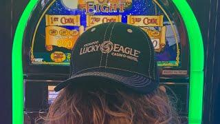 VGT Pieces Of Eight & Lucky Ducky Kickapoo Lucky Eagle Casino