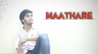 MAATHARE shortfilm firstlook motion poster. By.vasim.