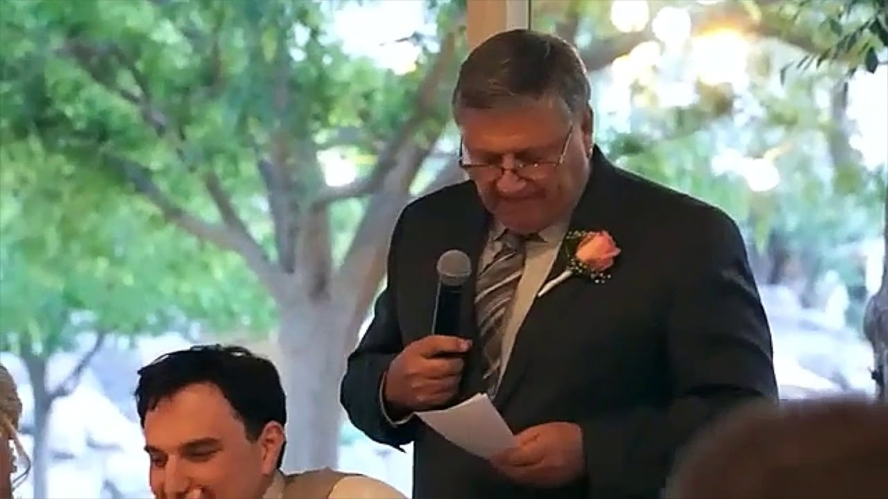 Father Of The Groom Speech-How to grab the attention of the