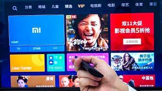 Mi TV Обзор. Настройка телевизора Xiaomi Mi TV 4A. На русский язык.