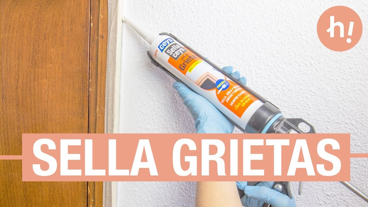 Cómo reparar grietas alrededor del marco de una puerta · Handfie DIY ...