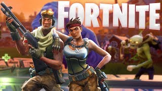 Fortnite PC Gameplay - Base Building, Exploring & Combat! - Fortnite Alpha Gameplay Highlights