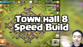 Town hall 8 Speed build - Clash of Clans 150