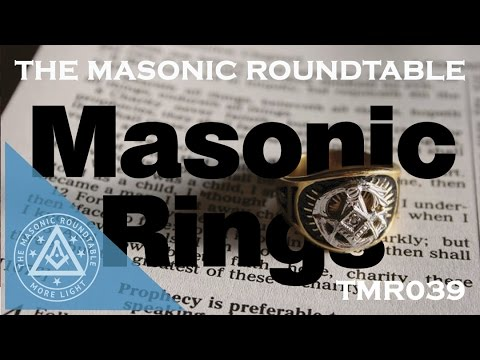 Episode 39 - Masonic Rings
