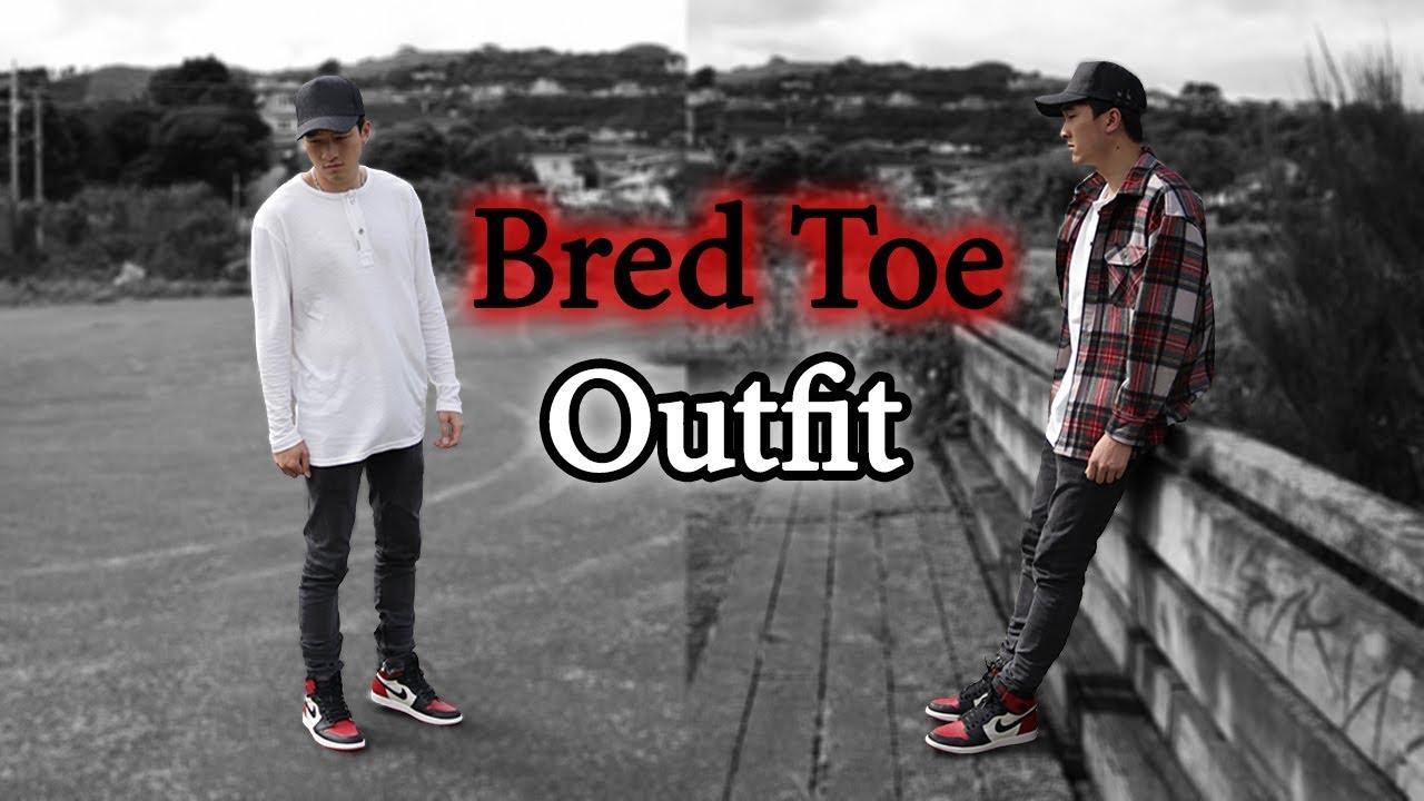 Styling Bred Toe 1 (Air Jordan 1)