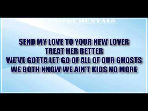 Adele - Send My Love (To Your New Lover) INSTRUMENTAL / KARAOKE + Lyrics