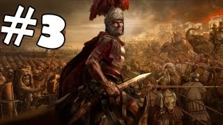 Total War Rome 2 Walkthrough Part 3 Gameplay Review Lets Play Playthrough Campaign HD