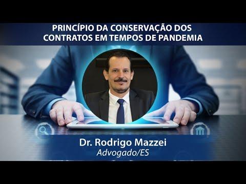 PALESTRA ESMEG - O PRINCÍPIO DA CONSERVAÇÃO DOS CONTRATOS EM TEMPOS DE PANDEMIA