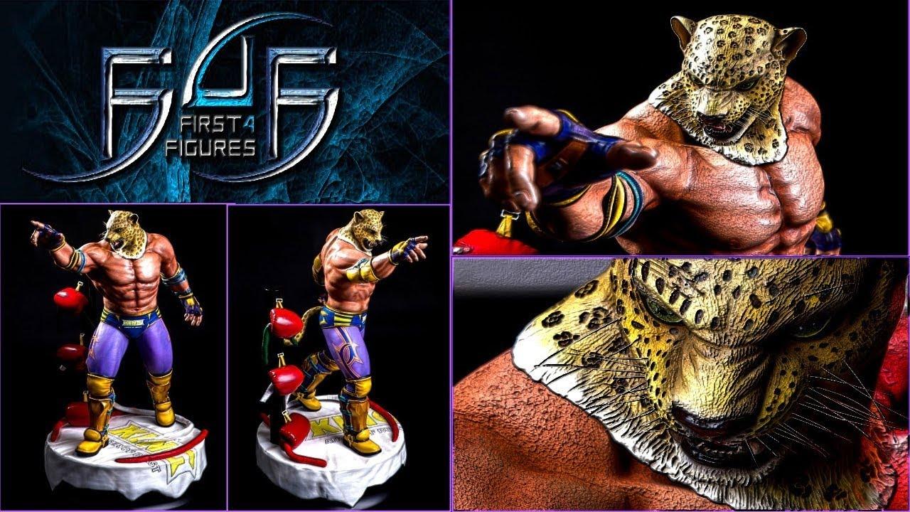 First4figures King Tekken 5 Exclusive Unboxing Youtube