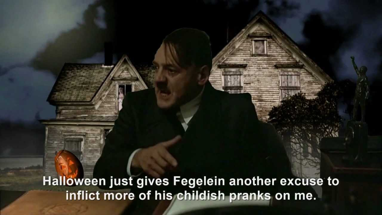 Hitler is informed it's Halloween