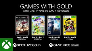 Xbox - August 2021 Games with Gold