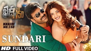 "Sundari Full Video Song | ""Khaidi No 150"" 