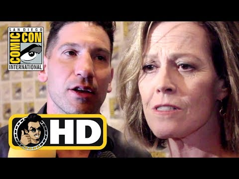 Marvel's THE DEFENDERS and THE PUNISHER Exclusive Cast Interviews - #SDCC 2017