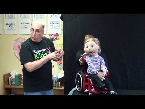 Puppets with disabilities teach kids to be kind to each other