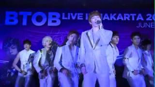 120621 BtoB Irresistible Lips Live In Jakarta 2012
