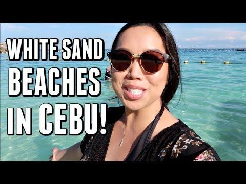 GORGEOUS WHITE SAND BEACH IN CEBU! - September 23, 2017-  ItsJudysLife Vlogs