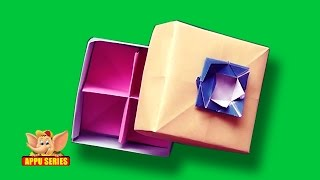 Origami - Let's make a Box decoration