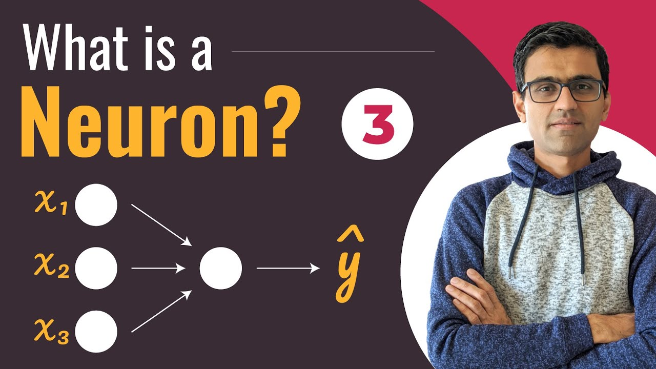 What is a Neuron?   Deep Learning Tutorial (TensorFlow, Keras & Python)