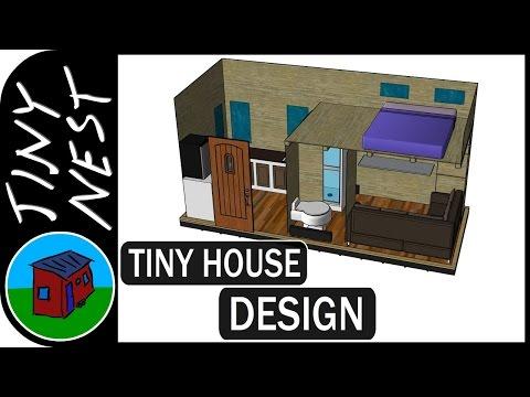 Tiny House Design - 3D Modeling (Ep.3)