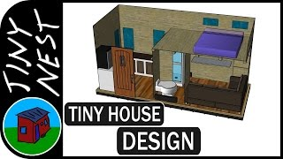 Tiny House Design - 3d Modeling Ep.3