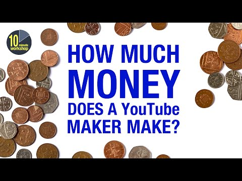 How Much Money Do I earn from YouTube? [video 376]
