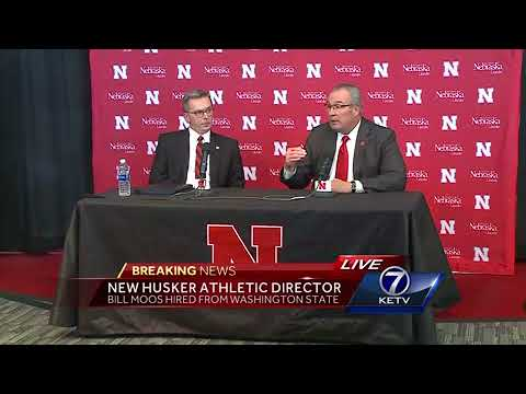 Chancellor Green introduces new Nebraska athletic director,
