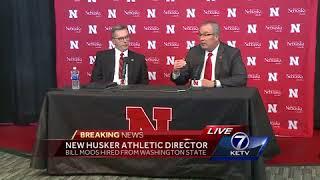 Chancellor Green introduces new Nebraska athletic director, Bill Moos