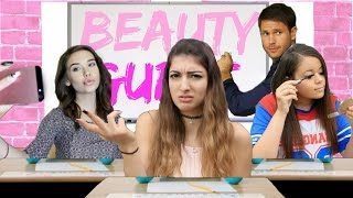 What Beauty Gurus Do During School!