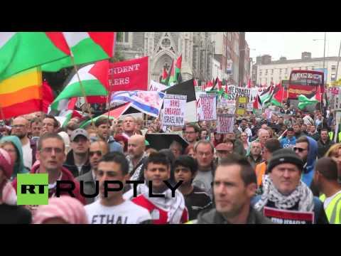 Ireland: Kick Out Israeli Ambassador, Demand Thousands Of Dubliners