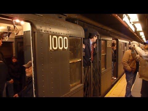 New York IND R-1/R-9 Subway Train