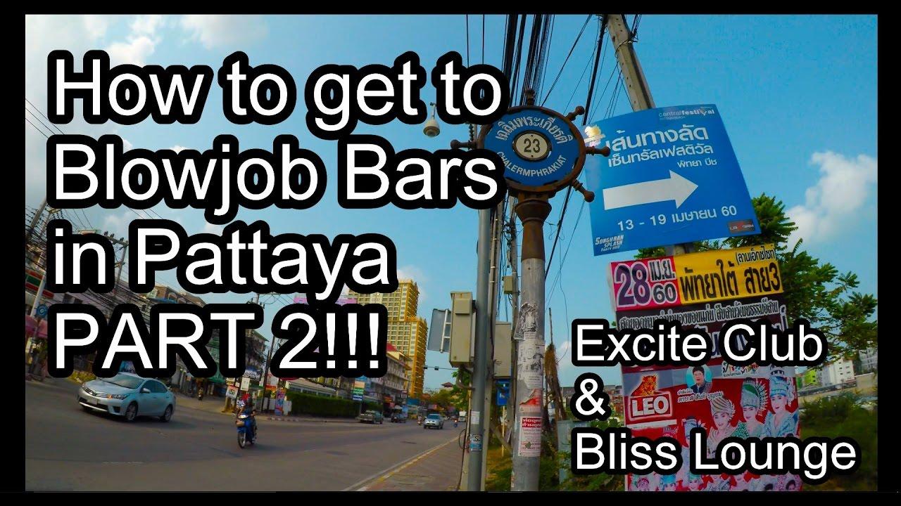 Pattaya blowjob bars